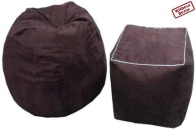 AVS XXXL Combo XXXL Teardrop Bean Bag  Cover (Without Filling)