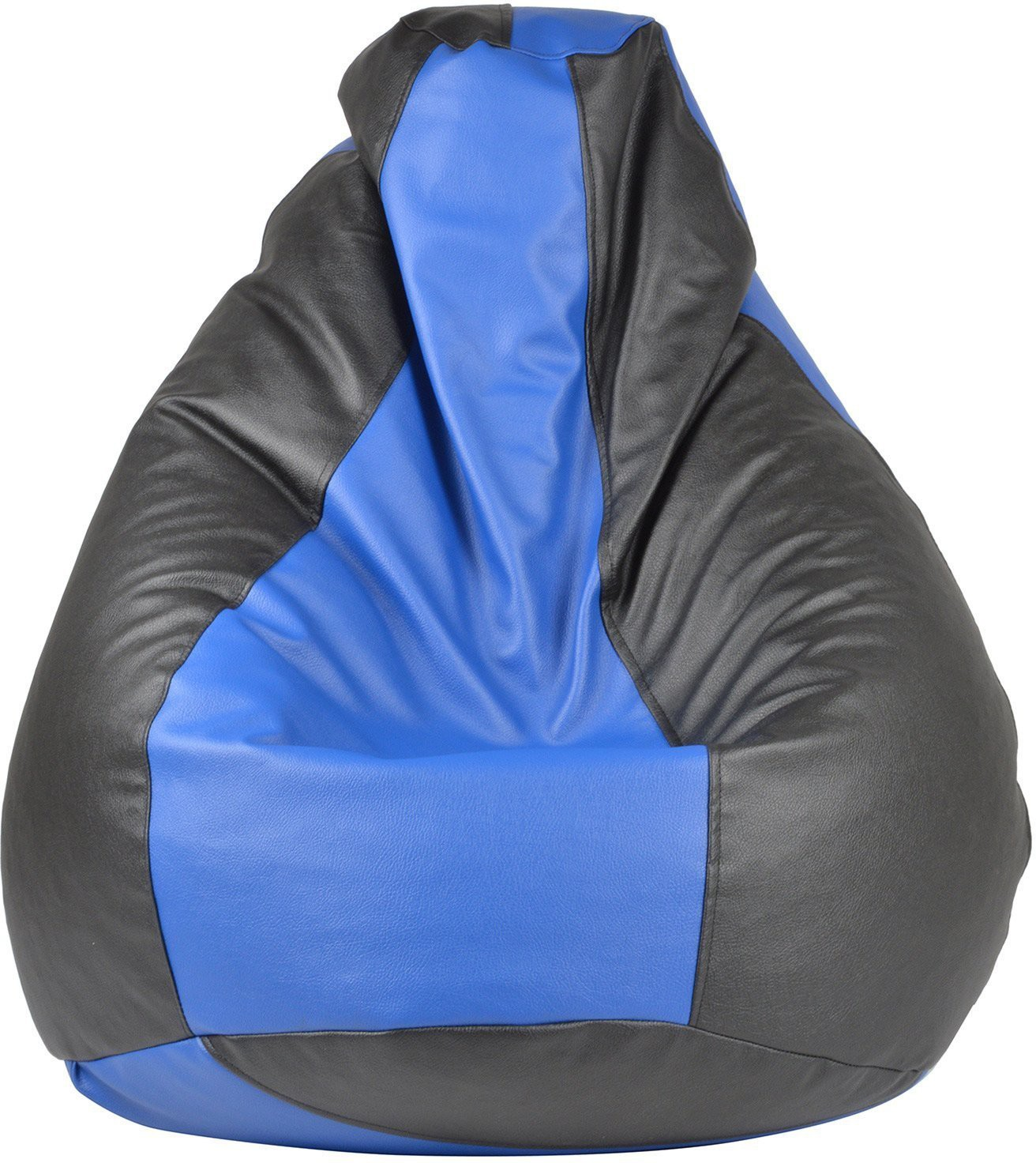View Galaxy Decorz XL Bean Bag Cover(Black, Blue) Furniture (Galaxy Decorz)