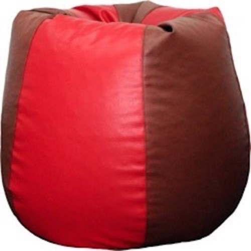 View mr.lazy XXL Bean Bag Cover(Red) Furniture (Mr.Lazy)