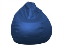 View Amatya Leatherette S Standard Kid Bean Bag(Foam Filling, Color - Blue) Furniture (Amatya)