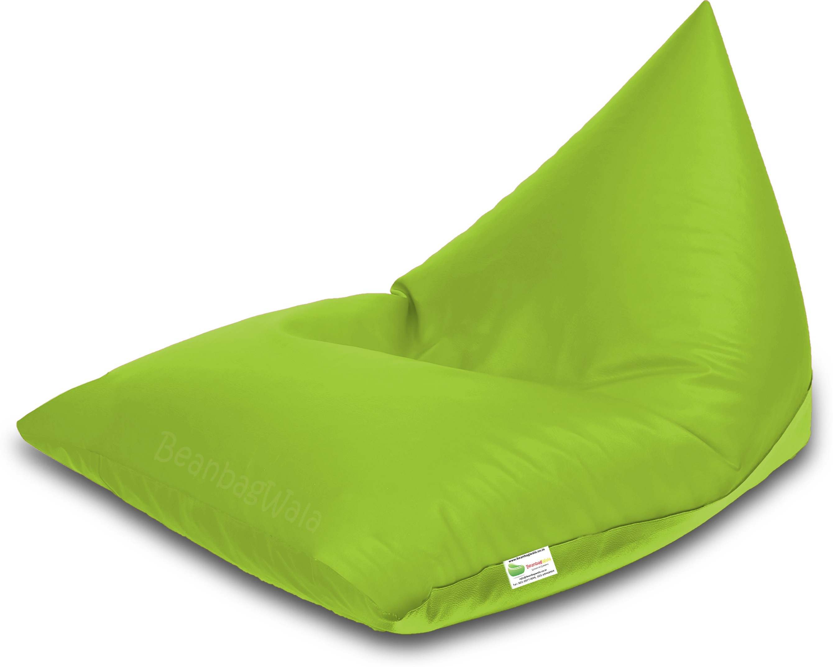 View Bean Bagwala XXXL BBWXXXL-08-Pyrd Bean Bag  With Bean Filling(Green) Furniture (Bean Bagwala)