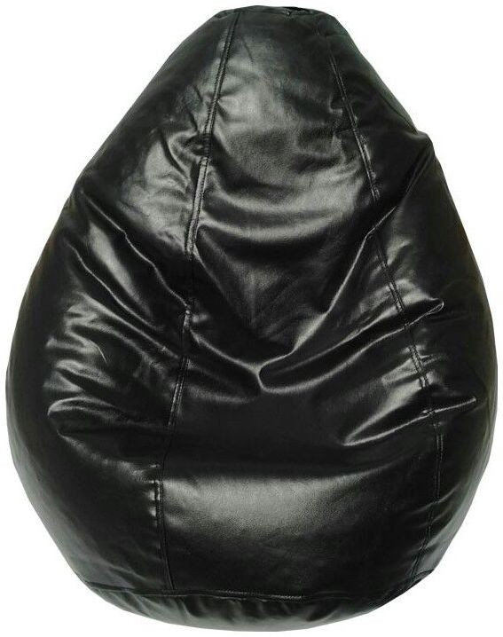 View Furnish Living XXL Bean Bag Cover(Black) Furniture (Furnish Living)