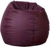 Priyansh Decor XXXL Bean Bag Cover (Red)