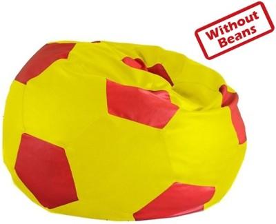 Fab Homez XXXL Football Teardrop Bean Bag  Cover (Without Filling)