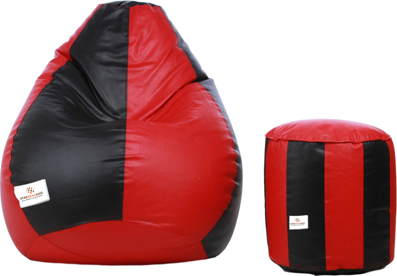 View Star XXL Bean Bag  With Bean Filling(Multicolor) Furniture (Star)