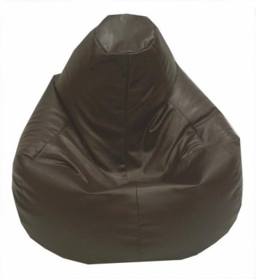 Star XXL Classic Bean Bag  With Bean Filling(Brown)