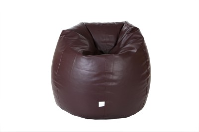 Comfy Bean Bags XXXL Teardrop Bean Bag  With Bean Filling(Maroon)
