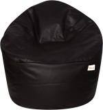 Sattva XXXL Muddha Bean Bag Sofa  With Bean Filling (Brown)