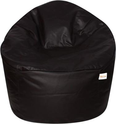 Sattva XXXL Muddha Bean Bag Sofa  With Bean Filling(Brown)