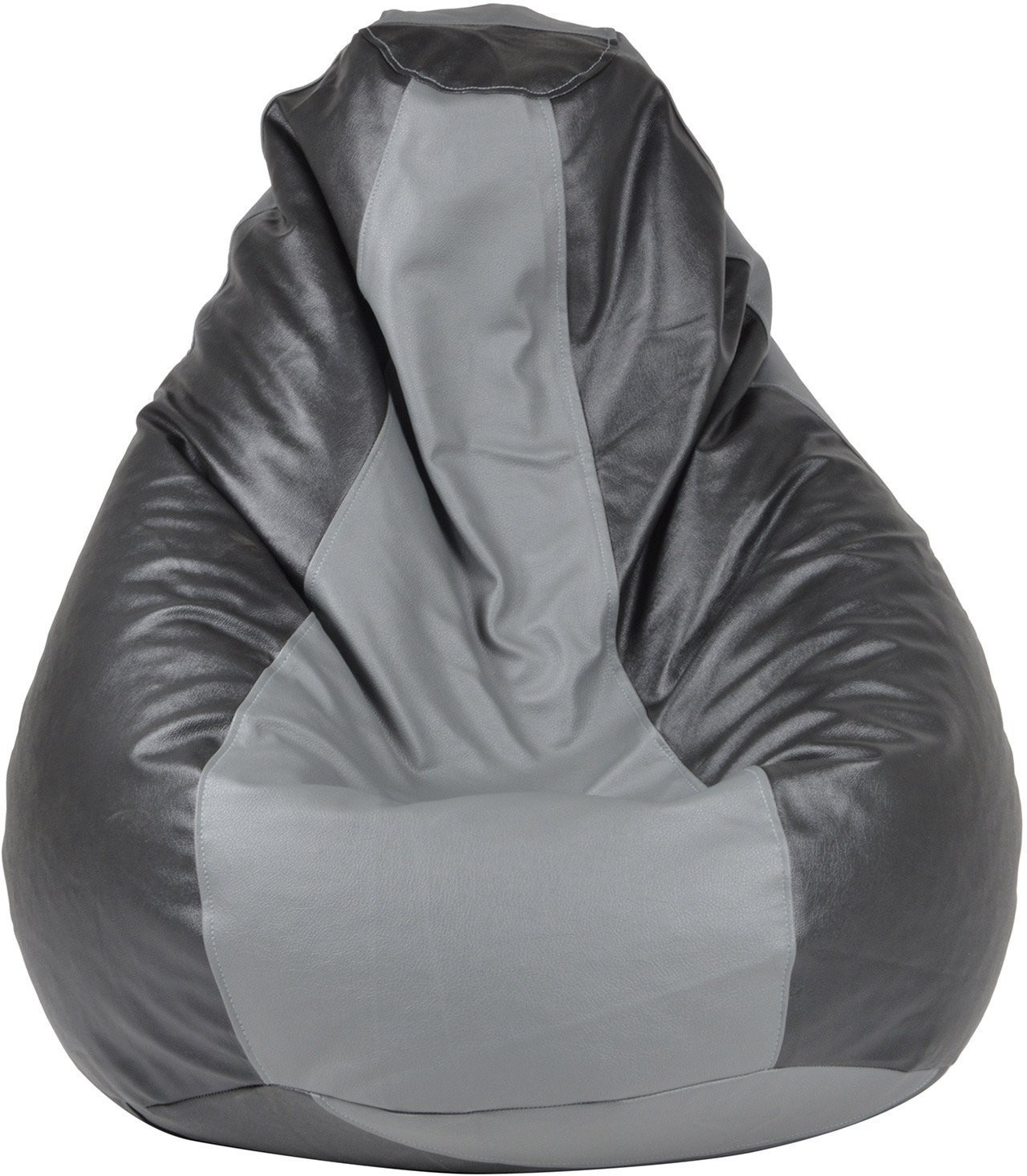 View Galaxy Decorz XL Bean Bag Cover(Black, Grey) Furniture (Galaxy Decorz)