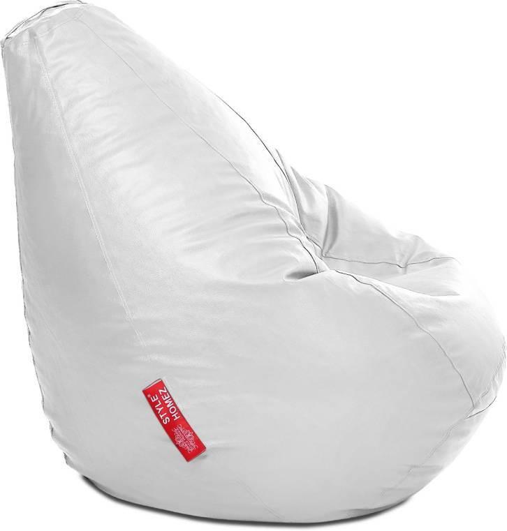 View JJ Design XXXL Bean Bag  With Bean Filling(White) Furniture (JJ Design)
