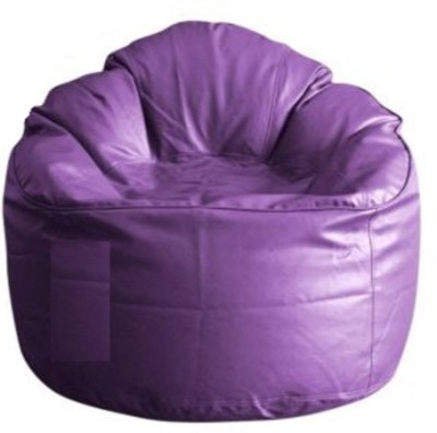 Parshva XXXL Soft Sofa Bean Bag Sofa  Cover (Without Filling)