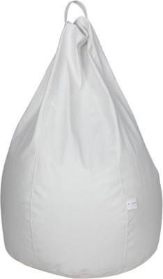 Sattva XXL Bean Bag Cover(White)