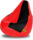 Dolphin Bean Bags XL Dolphin Xl Black&Re...