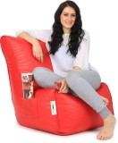 Can Bean Bag XXL Bean Chair Cover (Red)