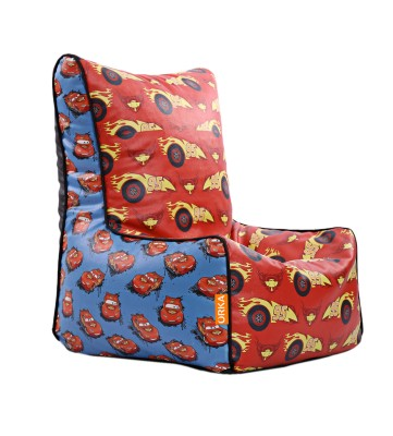 ORKA XXXL Pixar Cars95 Digital Printed Bean Bag Chair  Cover (Without Filling)