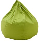 Priyansh Decor XXXL Bean Bag Cover (Gree...