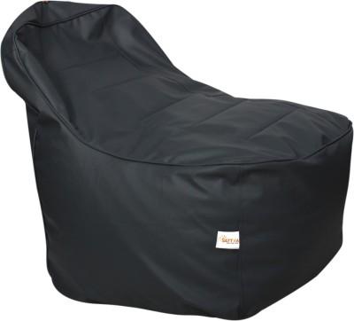 Sattva XXL Lounger Chair Lounger Bean Bag  With Bean Filling