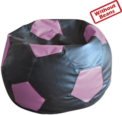 Fab Homez XL Football Teardrop Bean Bag  Cover (Without Filling)