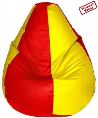 Fab Homez XXXL Teardrop Bean Bag  Cover (Without Filling)