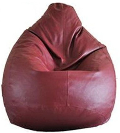 View MEHDI XL Bean Bag  With Bean Filling(Maroon) Price Online(MEHDI)