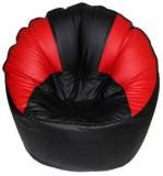 VSK XXXL Bean Bag Cover (Red, Black)