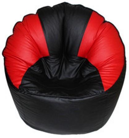 View VSK XXXL Bean Bag Cover(Red, Black) Furniture (VSK)
