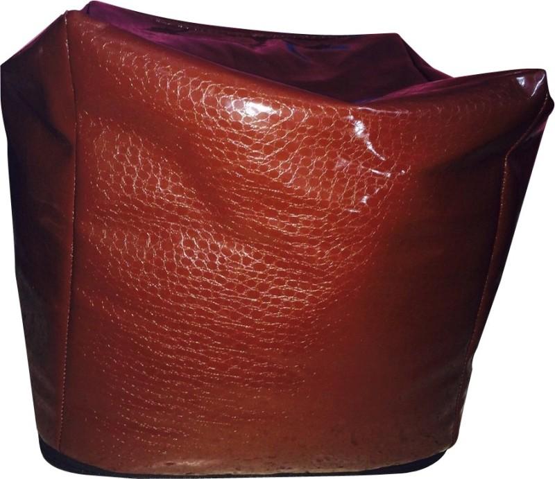 Creative Textiles XXL Bean Bag Cover(Brown)