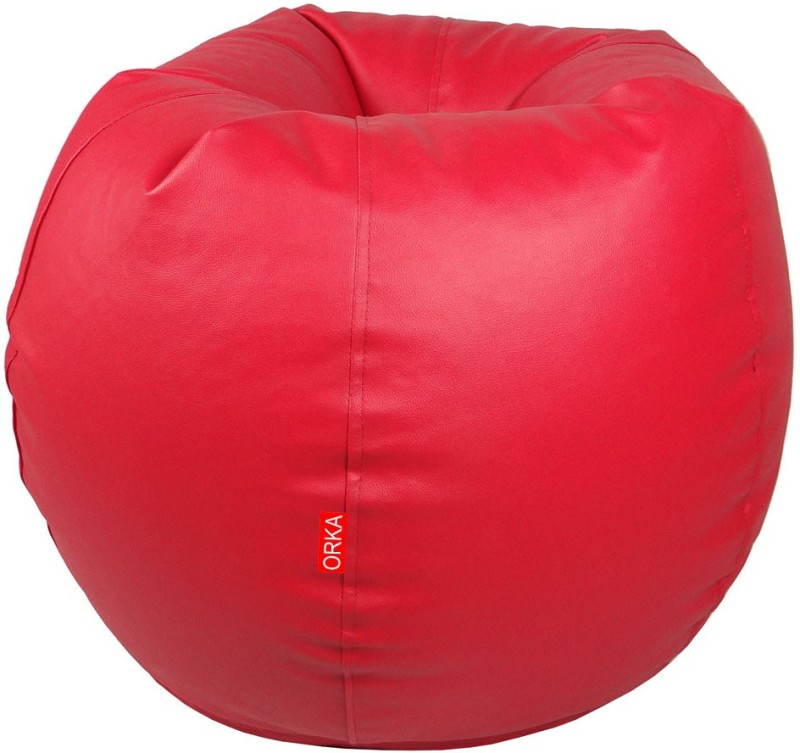 ORKA XL Bean Bag XL (Filled With Beans) Bean Bag...