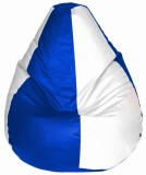 TJAR XXL Bean Bag Cover (White)