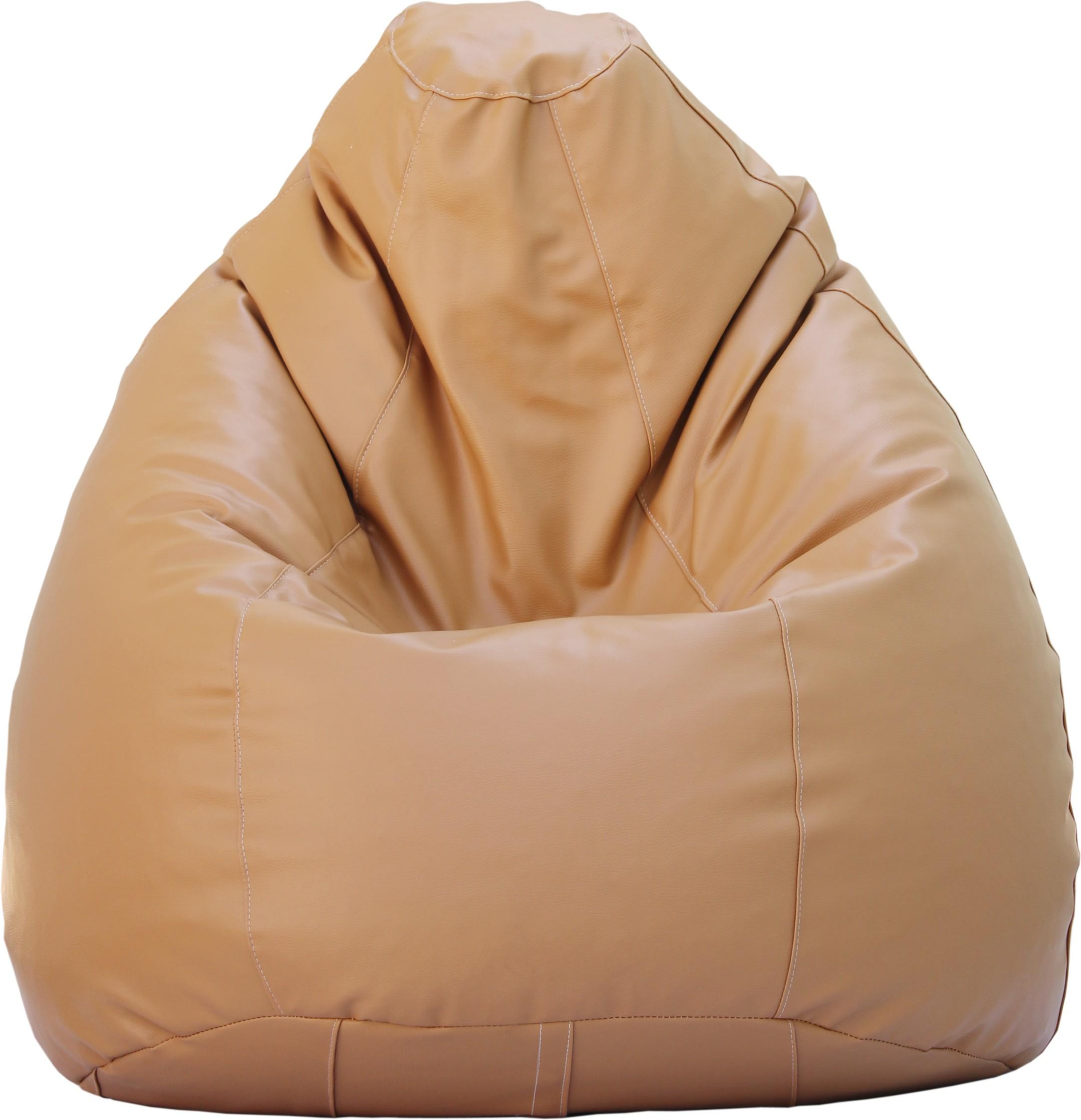 View Beanskart XXXL Bean Bag XXXL (Filled With Beans) Bean Bag  With Bean Filling(Copper) Furniture (Beanskart)