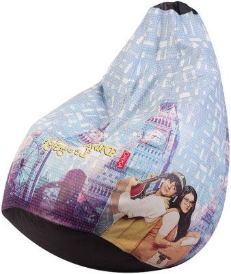 Fun ON XXXL Digital Printed Bean Bag Bean Bag  Cover (Without Filling)