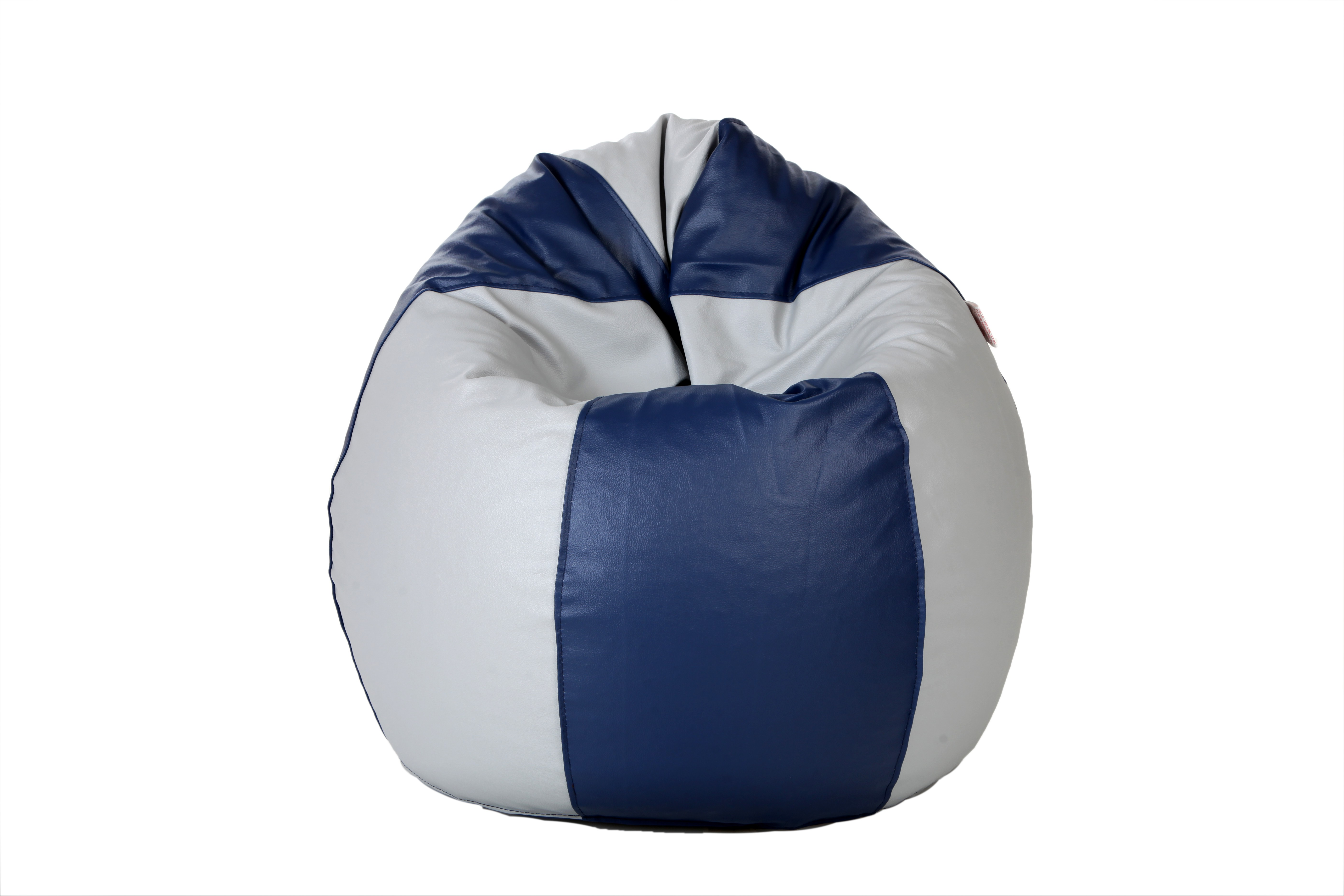 View Comfy Bean Bags XXL Bean Bag Cover(Blue, Grey) Furniture (Comfy Bean Bags)