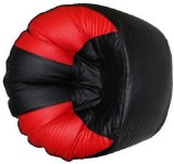 Elite India XXXL Bean Bag Cover (Red, Bl...