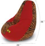 Dolphin Bean Bags XL Dolphin Xl Red/Gold...