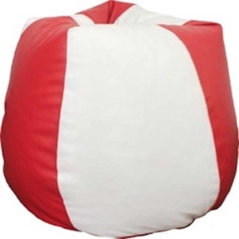 Mr.Lazy XXL Bean Bag  With Bean Filling(Red)