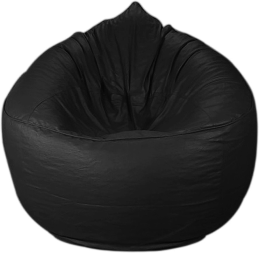 View PSYGN XXXL Bean Chair Cover(Black) Furniture (Psygn)