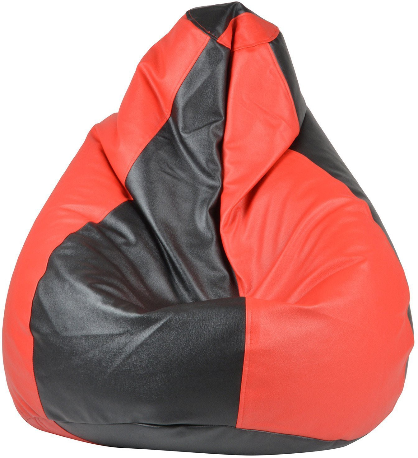 View Galaxy Decorz XL Bean Bag Cover(Black, Red) Furniture (Galaxy Decorz)