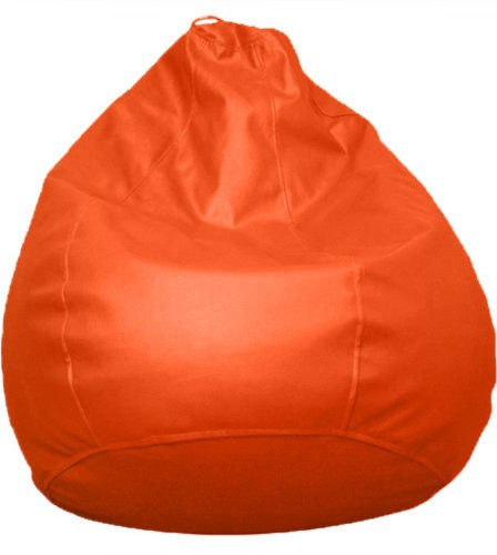 View Amatya Large Teardrop Bean Bag  With Bean Filling(Orange) Furniture (Amatya)