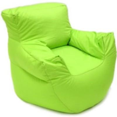 Parshva XXXL Nature Bean Bag Sofa  Cover (Without Filling)