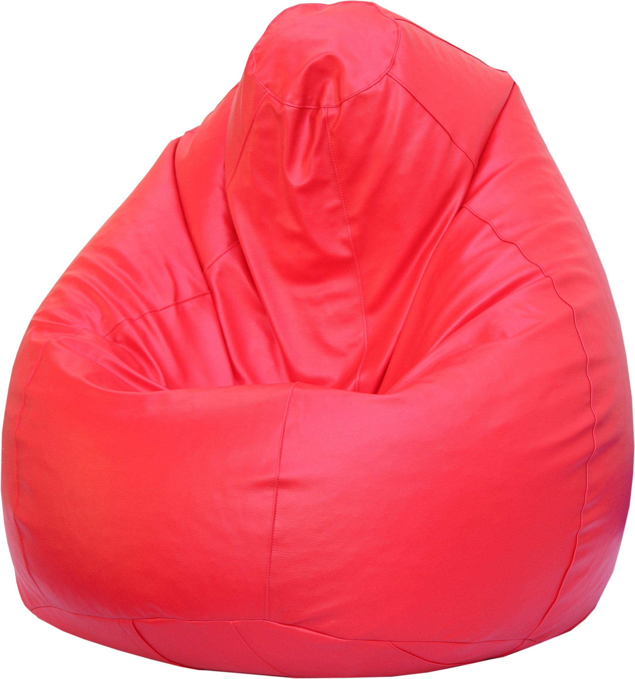 View Beanskart XL Bean Bag XL (Filled With Beans) Bean Bag  With Bean Filling(Red) Furniture (Beanskart)