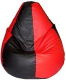 Beans Bag House XL Bean Bag Cover (Red, ...