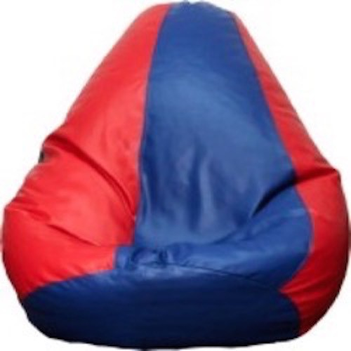 View Mr.Lazy XXL Bean Bag  With Bean Filling(Blue) Furniture (Mr.Lazy)