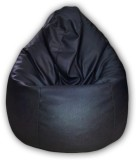 Elite India XL Bean Bag Cover (Black)