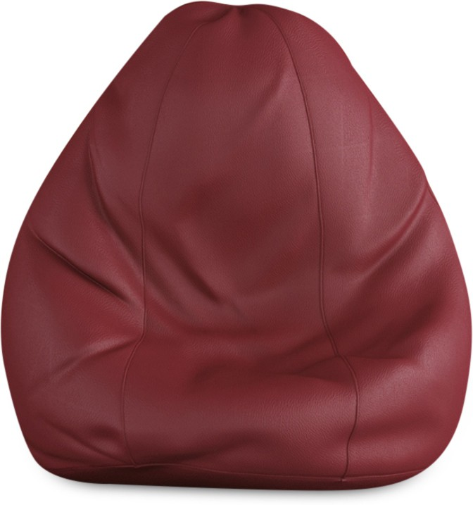 View Beans Bag House Small Bean Bag Cover(Maroon) Furniture (Beans Bag House)