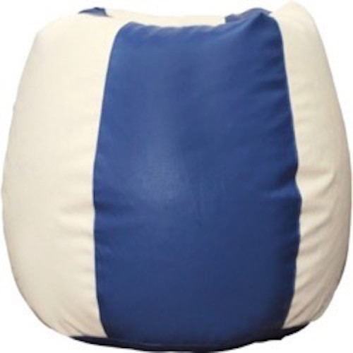 View mr.lazy XXXL Bean Bag Cover(Blue) Furniture (Mr.Lazy)