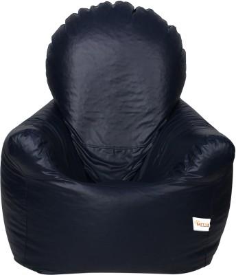 Sattva XXXL Arm Chair Bean Bag Chair  With Bean Filling