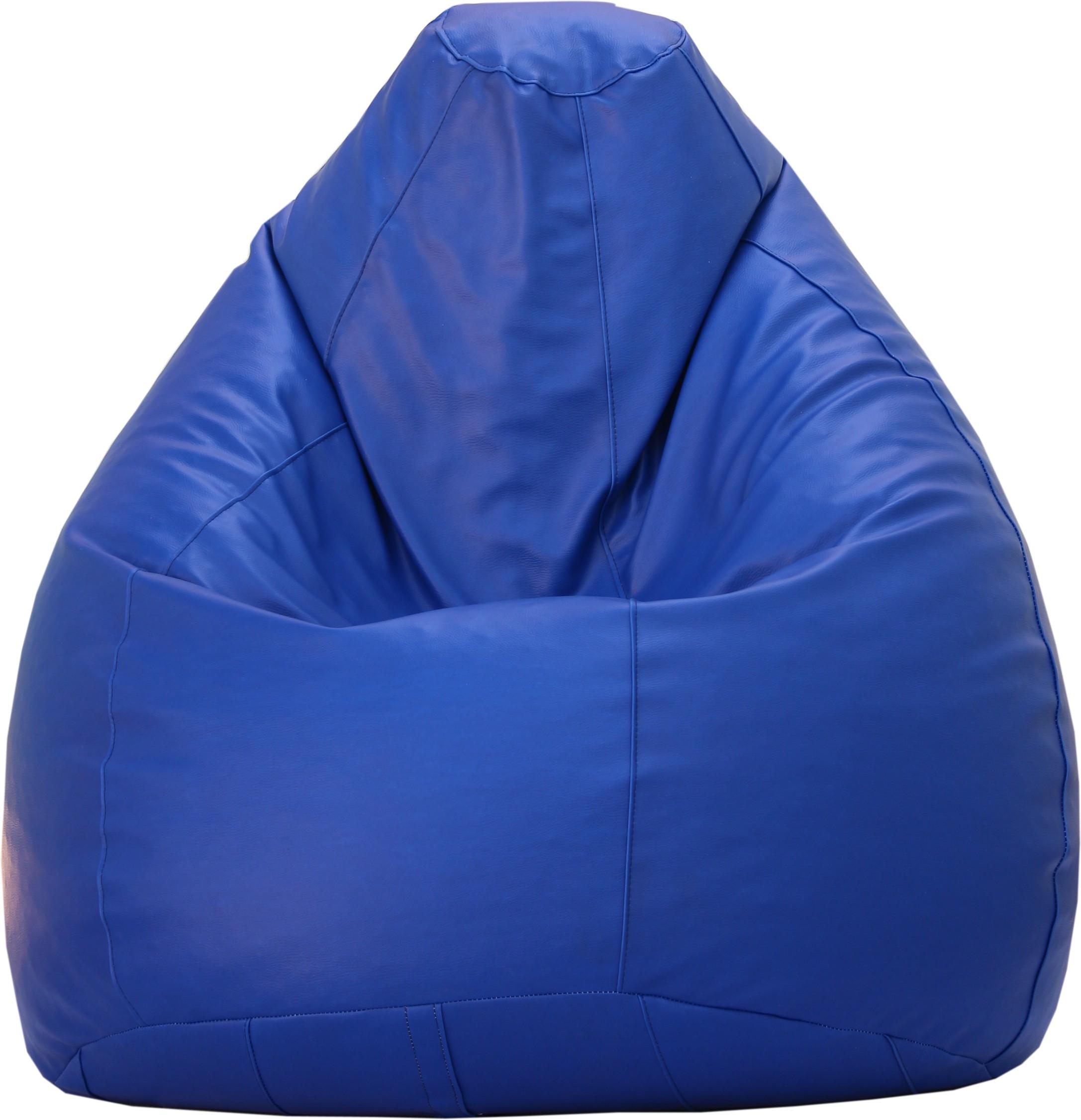 View Beanskart XXXL Bean Bag XXXL (Filled With Beans) Bean Bag  With Bean Filling(Blue) Furniture (Beanskart)