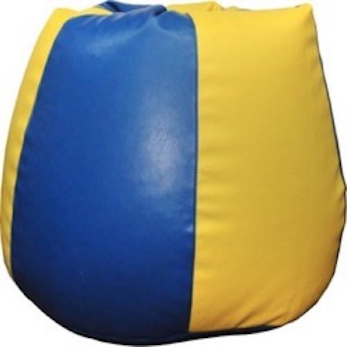 View mr.lazy XXL Bean Bag Cover(Yellow) Furniture (Mr.Lazy)