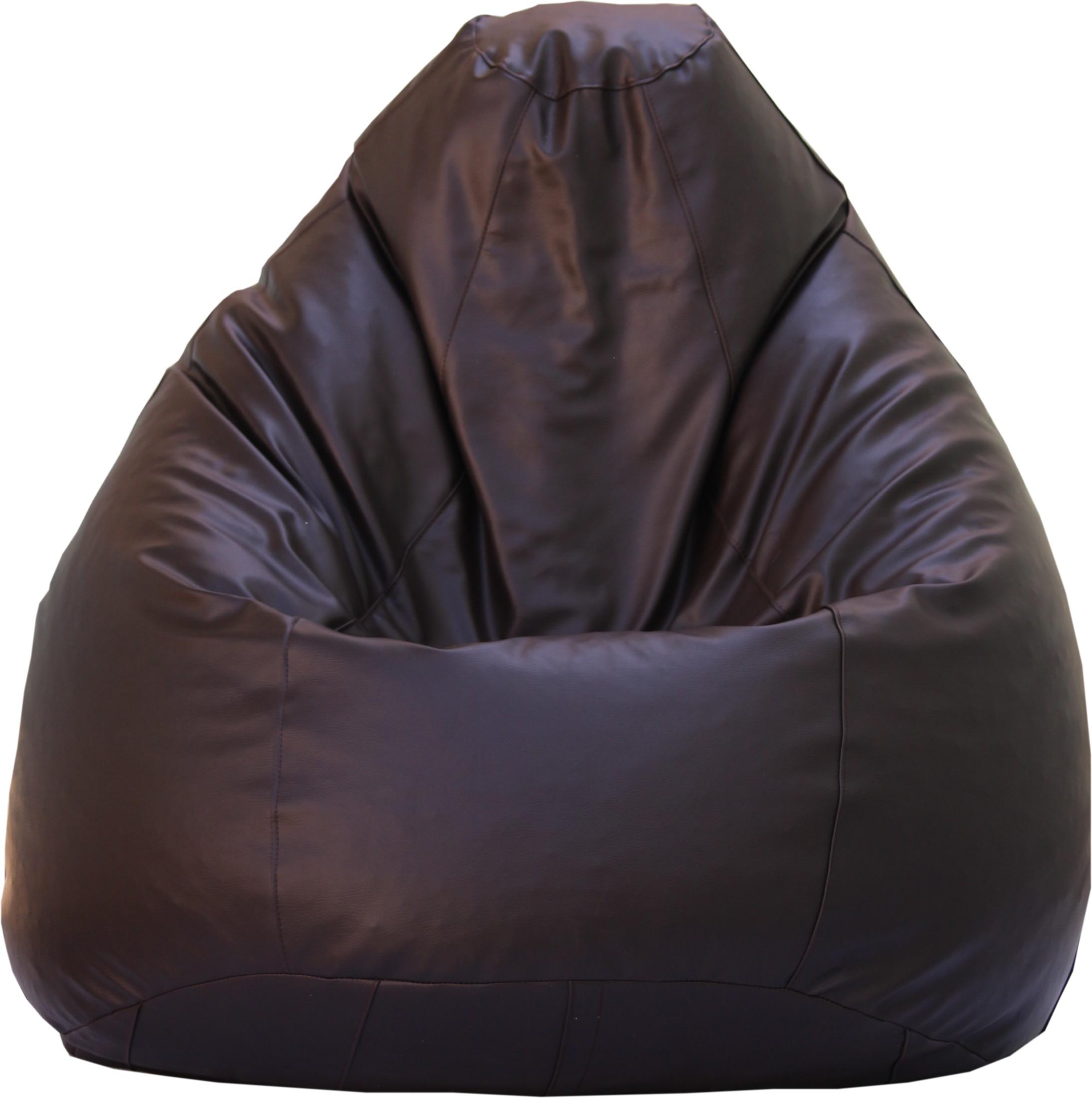 View Beanskart XXXL Bean Bag XXXL (Filled With Beans) Bean Bag  With Bean Filling(Brown) Furniture (Beanskart)